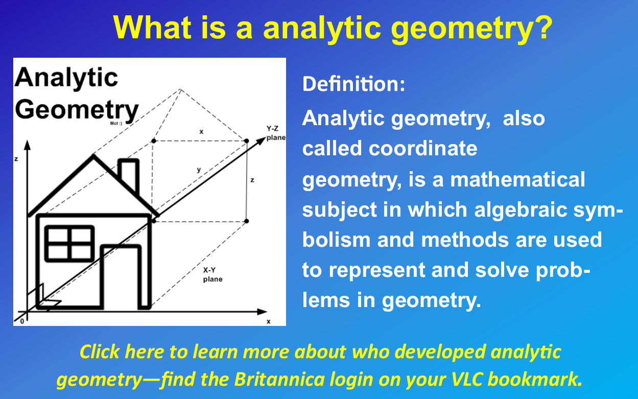 analytic geometry grade 9 math libguides at upper understanding analytic geometry