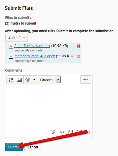 After you have completed your edits you will need to click the  Update   button  otherwise when you leave this page all of your changes will be lost  SlideShare