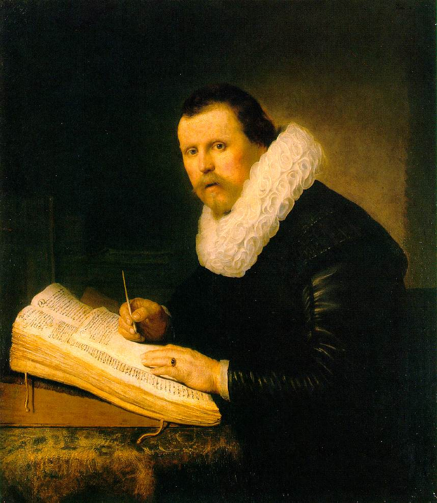 """A Scholar"" by Rembrandt"