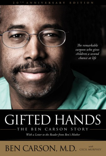 Book Cover of Gifted Hands by Ben Carson
