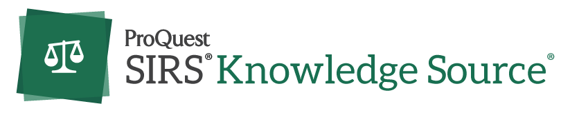 Image result for proquest sirs knowledge source