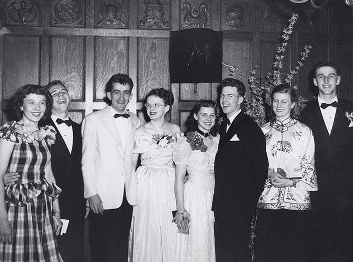 Winter Ball, 1949-1950