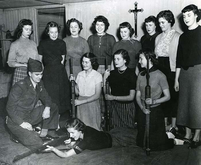 Women's Rifle Club, 1953.