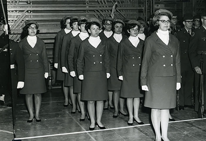Women's Drill team, 1967.