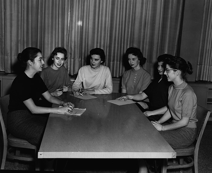 A.W.S.G.U. Meeting, about 1958.