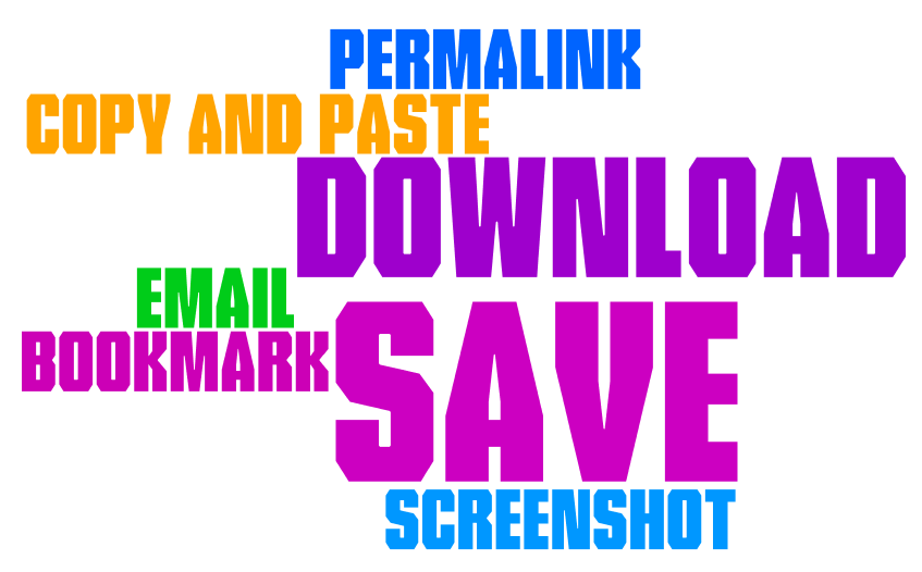Permalink, copy and paste, download, email, bookmark, save