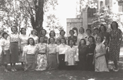 First group of women students