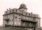 Original College Building, ca. 1890