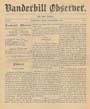 Vanderbilt Observer, 1882