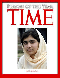 girl on cover of Time magazine