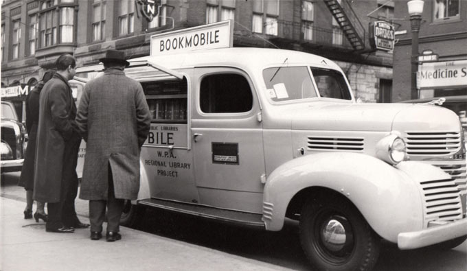 Bookmobile from the WPA