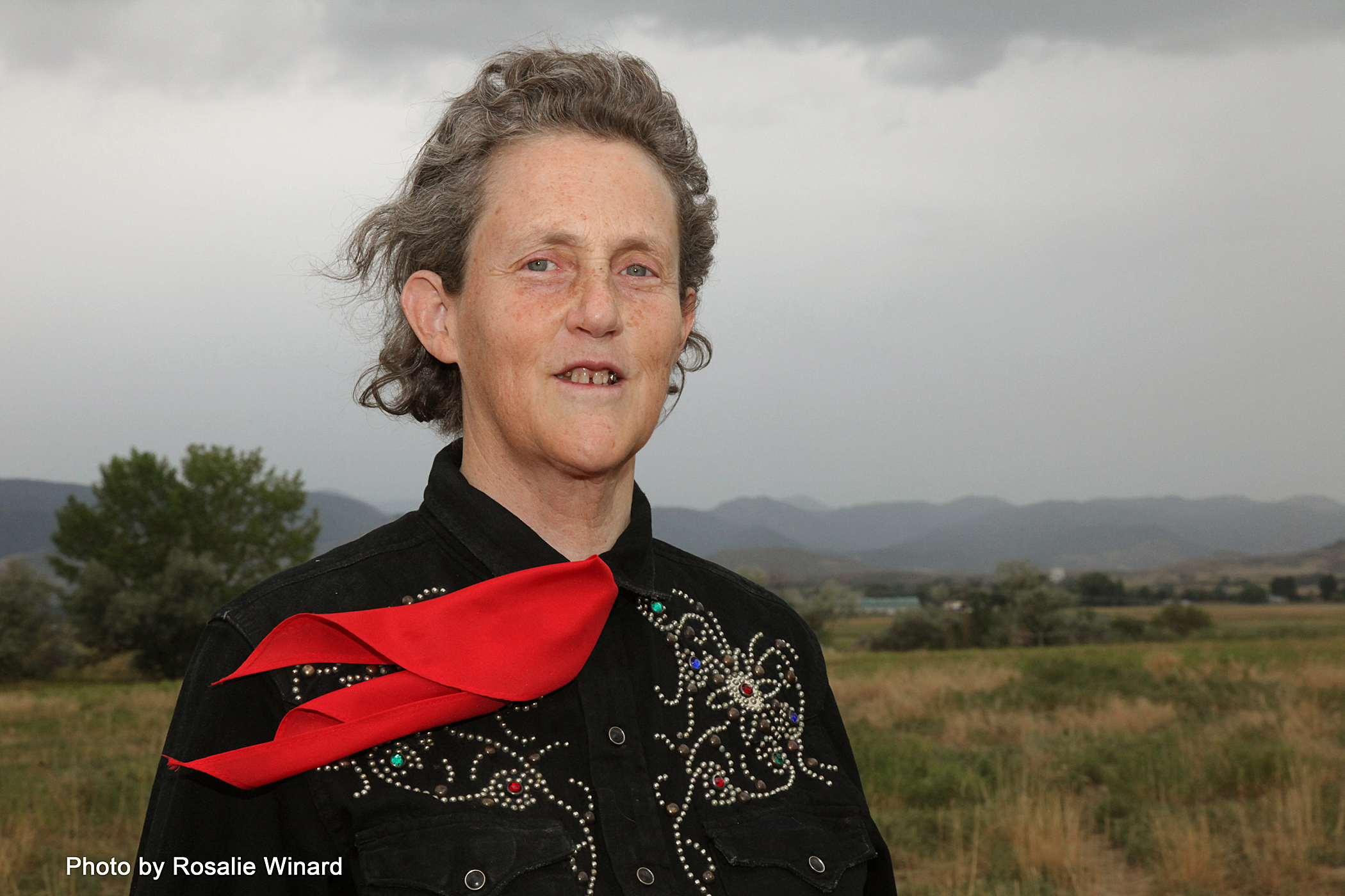 Photograph of the author Temple Grandin