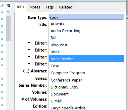 Zotero tips enr 2367 communicating environmental and natural a if the information zotero imported was for the whole book rather than the chapter youre using youll need to revise the entry in zotero ccuart Images
