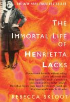 Book cover The Immortal Life of Henrietta Lacks