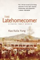 Book cover The Latehomecomer