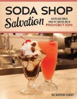 Book cover Soda Shop Salvation