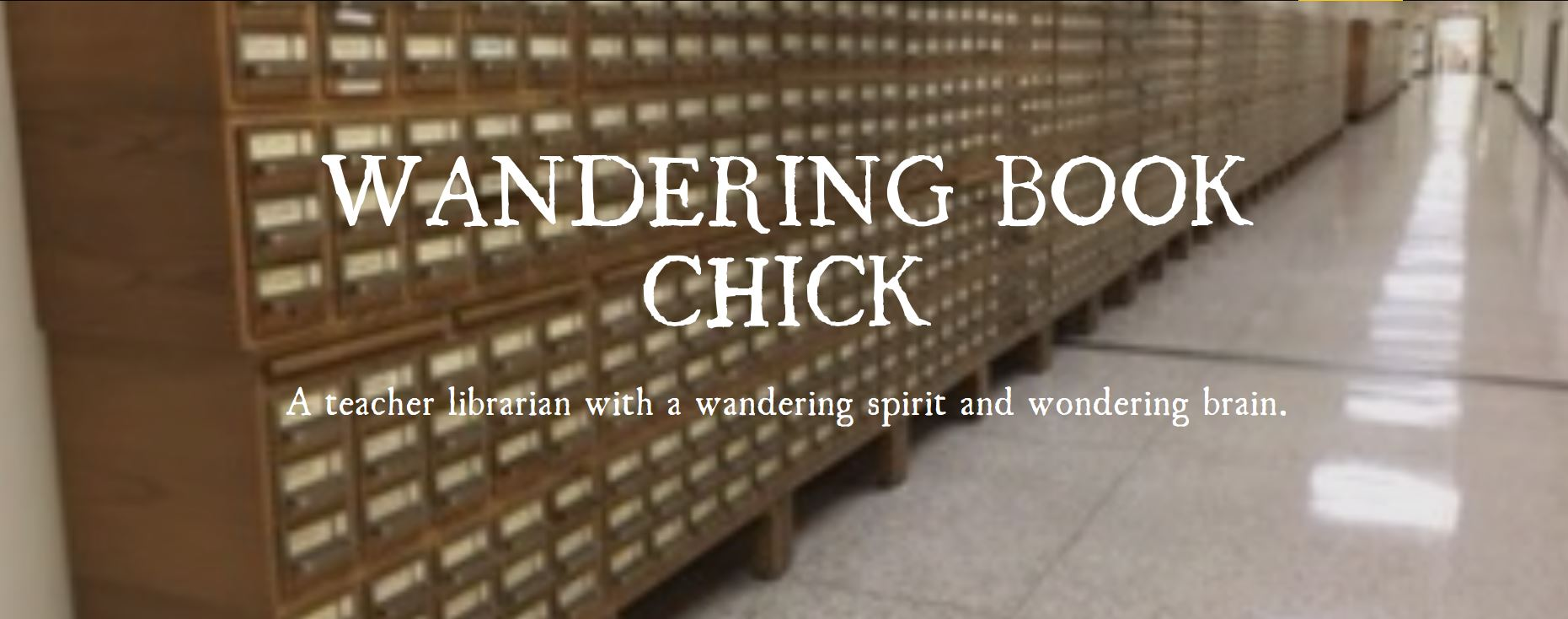 Picture of card catalog at Library of Congress with link to fellowship blog.