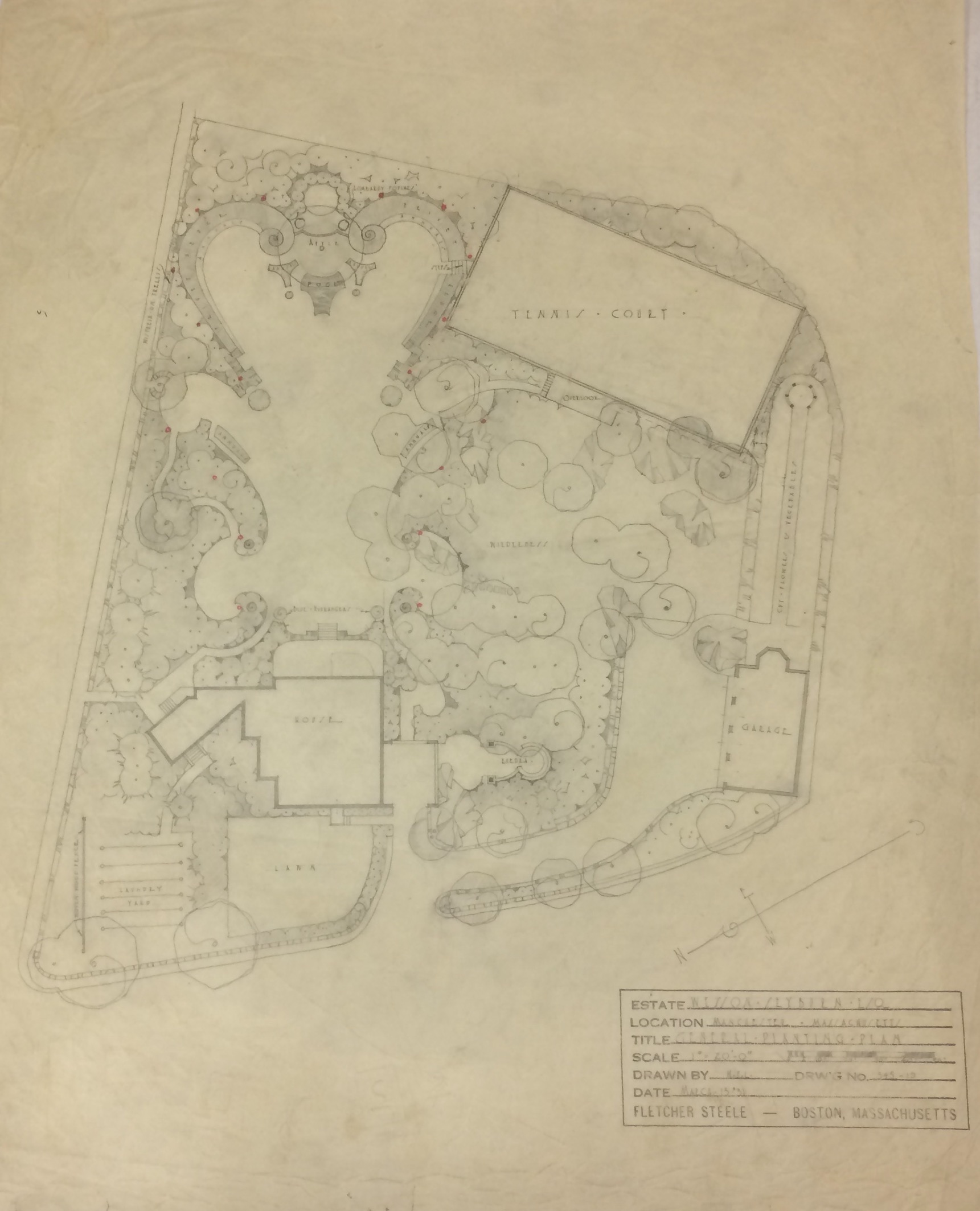 Fletcher Steele Landscape Architect Large Scale