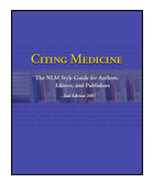 Citing Medicine Cover