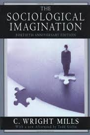 A recent cover C. W. Wright's book The Sociological Imagination