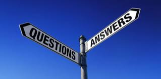 Guidepost to questions and answers