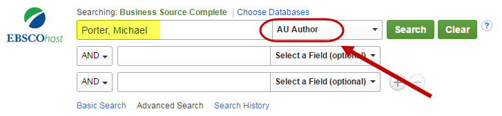What is an academic database?