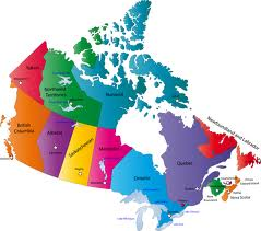 Physical and Politcal Regions of Canada and its People Grade 4