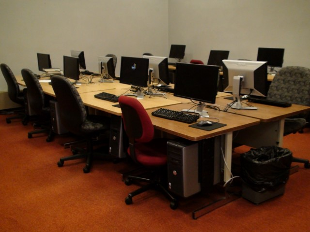 Image of Downstairs Computer Lab