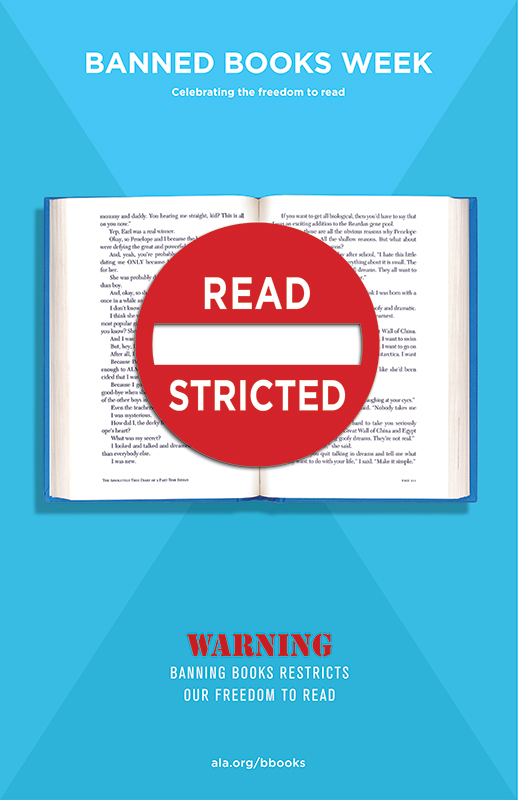 banned books week read - stricted