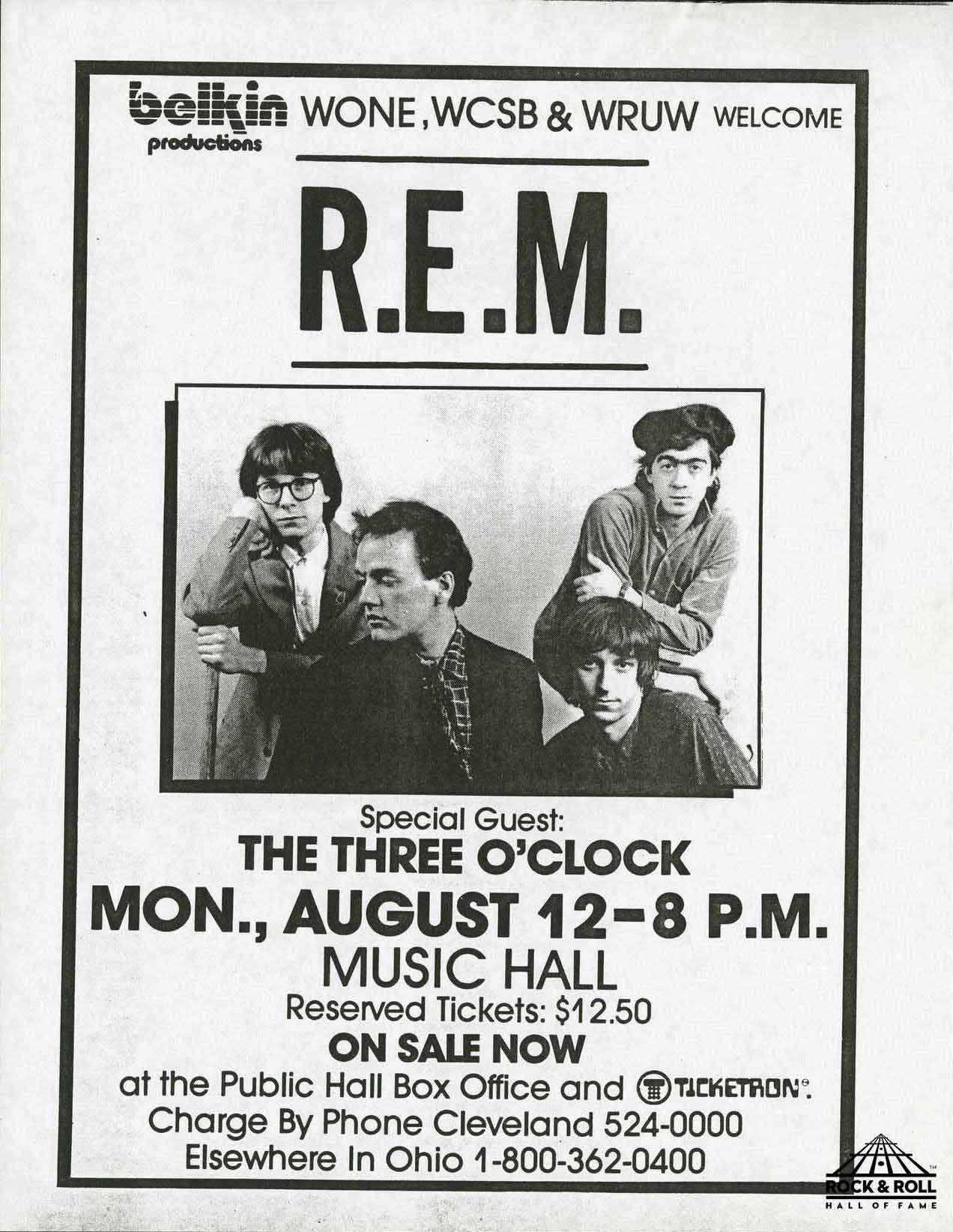 REM at Music Hall