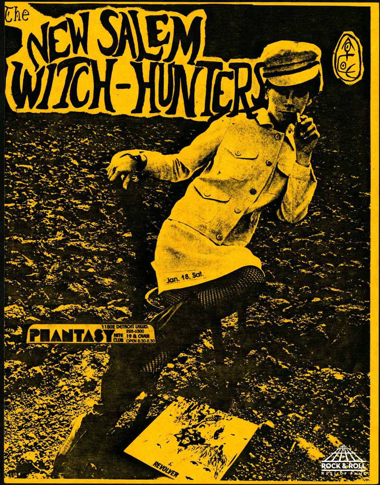 New Salem Witch-Hunters flyer
