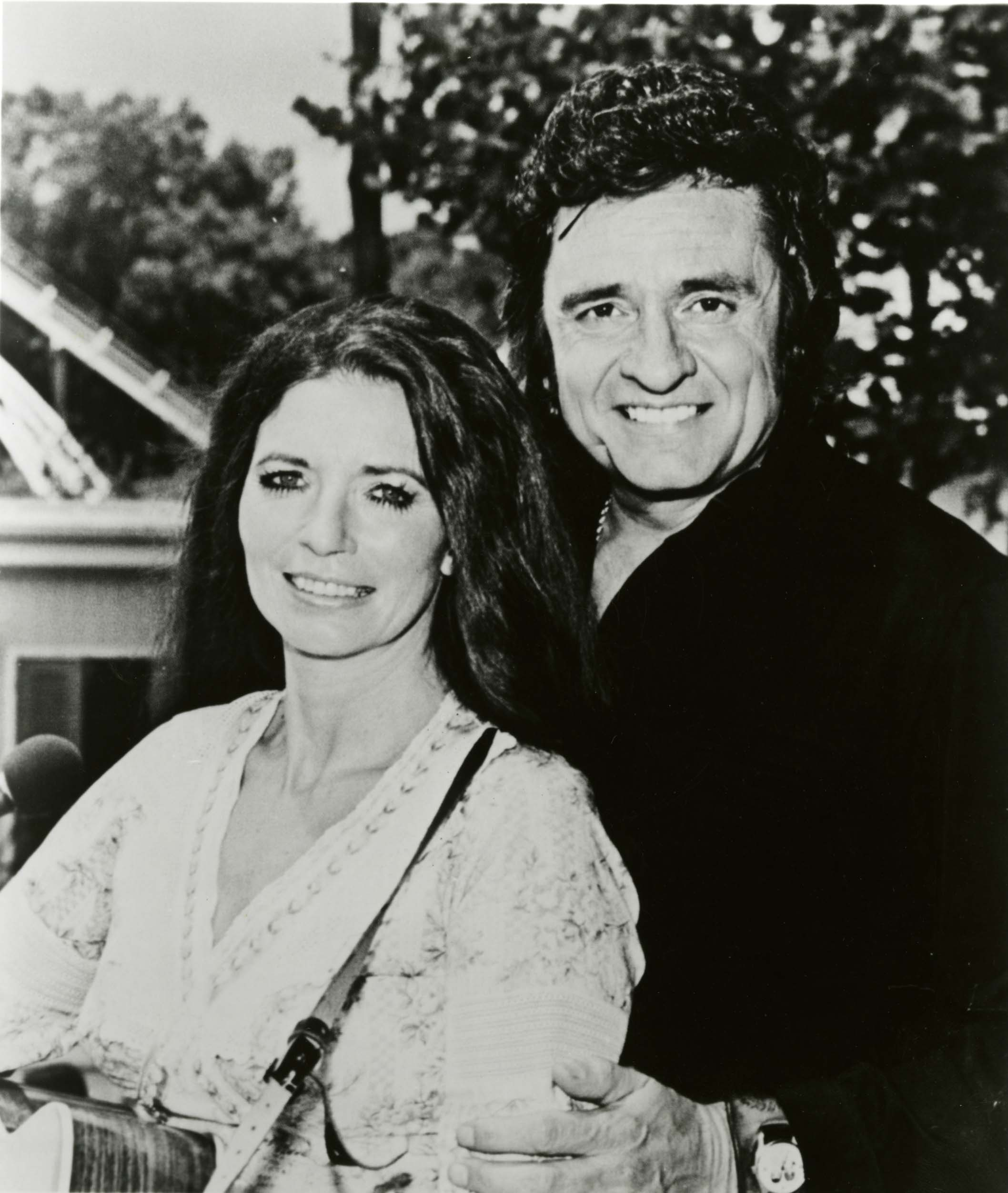 Johnny Cash with June Carter Cash