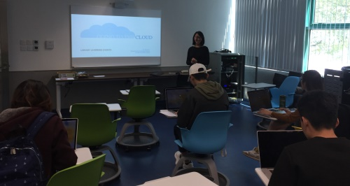 Dr. Kristen Li conducts a Learning Event on Cloud Computing in March 2017