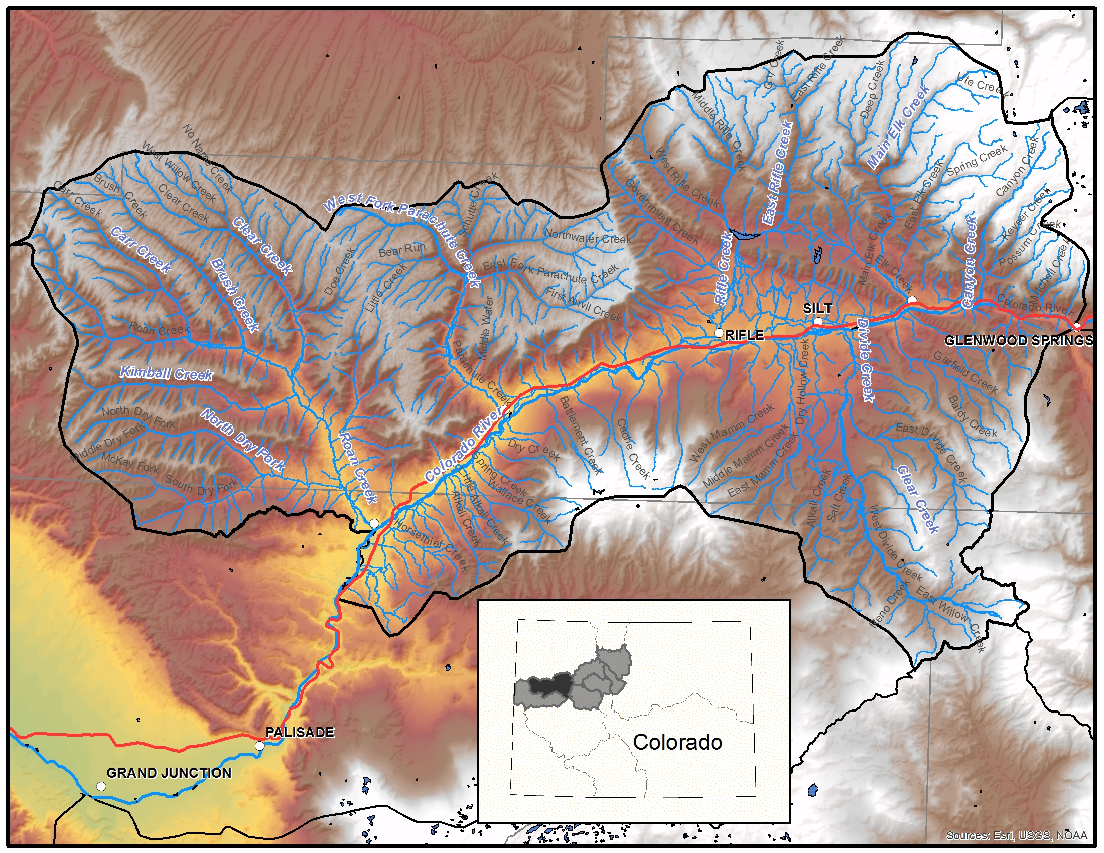 Middle Colorado Region