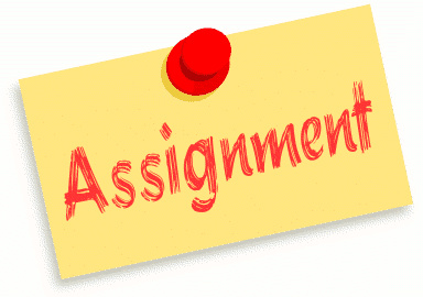"""Assignment"" image - public domain from wpclipart.com"