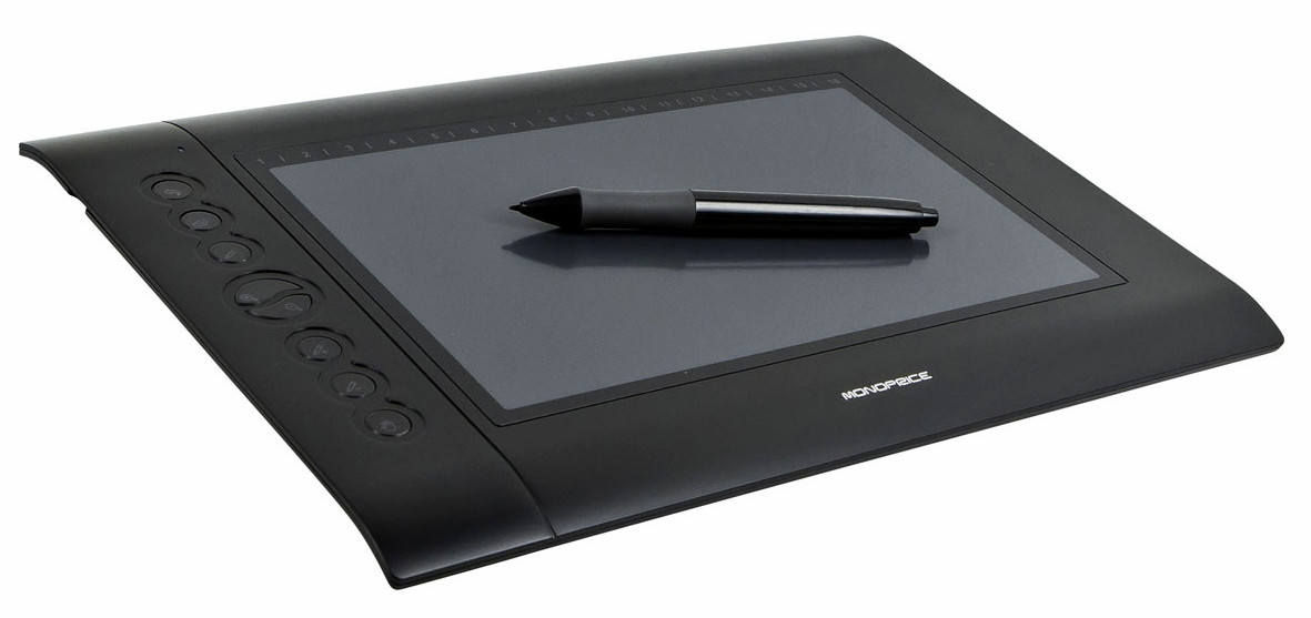 Monoprice drawing tablet & pen