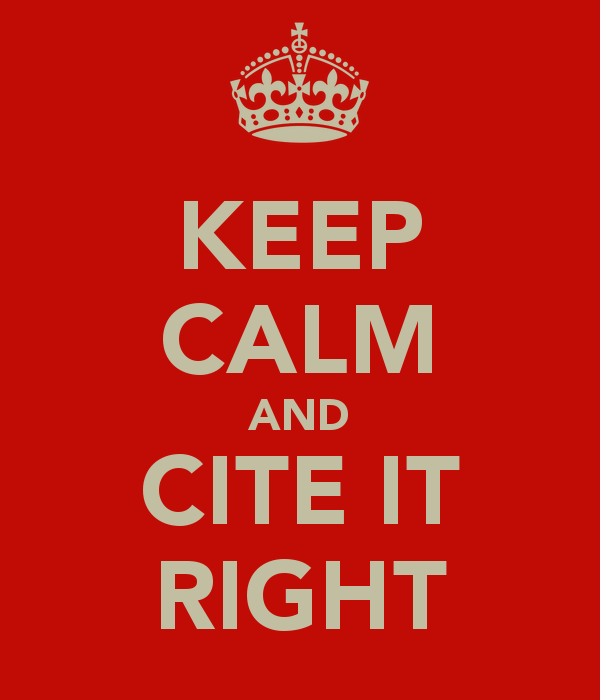 Cite it right