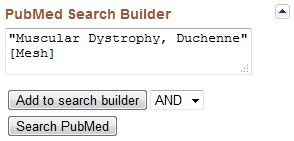 PubMed Search Builder
