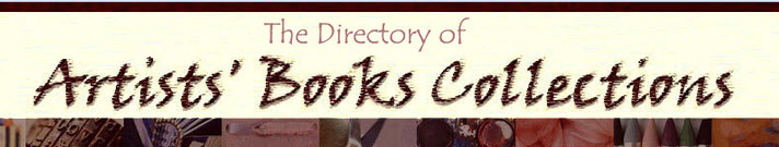 Directory of Artists' Books Collections