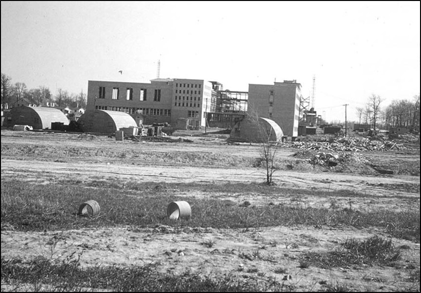 Alverno under construction-late 1951 or early 1952
