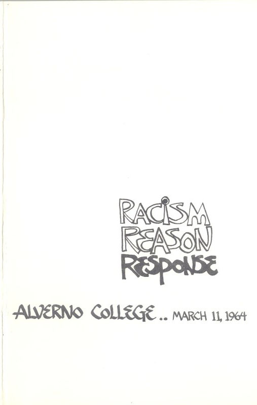 Racism Reason Response Program Cover