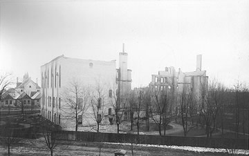 SSSF Motherhouse after 1890 fire
