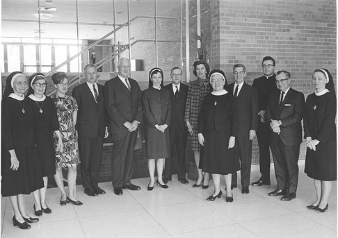 Alverno's first lay board of trustees, February 1968