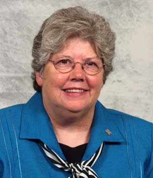 Sister Kathleen O'Brien, Acting president of Alverno College, 2003-2004