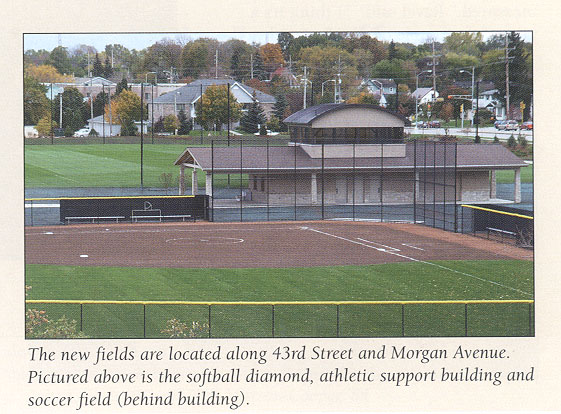 New Athletic Fields- Alverno Magazine Winter 2007 Photo