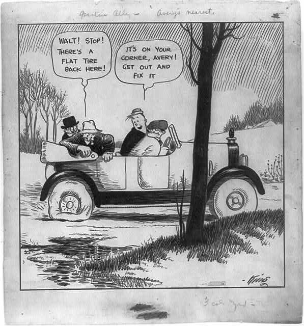 Gasoline Alley Comic
