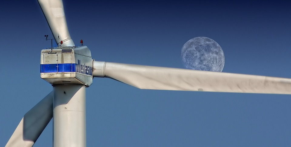 Moon Wind turbine