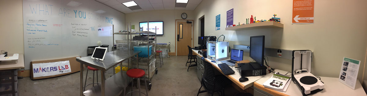 picture of UCSF makers lab