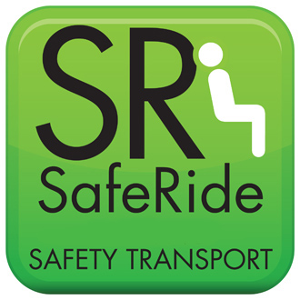 Safe Ride safety transport icon