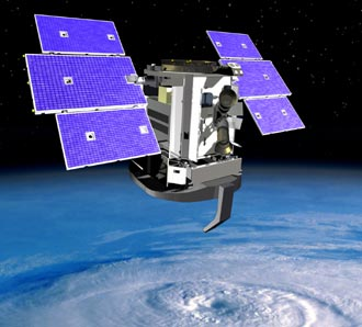 NASA Cloudstat satellite